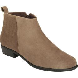Women's Aerosoles Step It Up Ankle Boot Taupe Suede