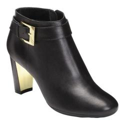Women's Aerosoles Third Ave Ankle Boot Black Leather