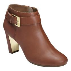 Women's Aerosoles Third Ave Ankle Boot Dark Tan Leather