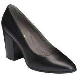 Women's Aerosoles Union Square Pump Black Leather
