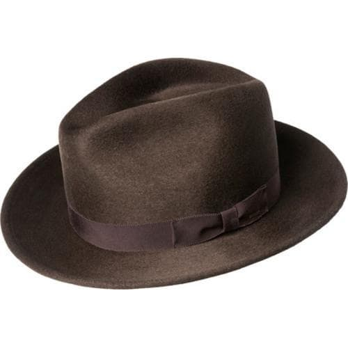 cdc5c6b4b2a93 Shop Men s Bailey of Hollywood Criss Wide Brim Hat 71001BH Bitter Chocolate  - Free Shipping Today - Overstock - 16823435