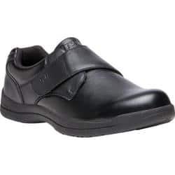 Men's Propet Marv Adjustable Strap Shoe Black Synthetic|https://ak1.ostkcdn.com/images/products/191/202/P23125381.jpg?impolicy=medium