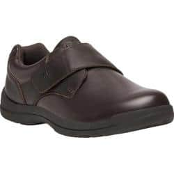 Men's Propet Marv Adjustable Strap Shoe Brown Synthetic|https://ak1.ostkcdn.com/images/products/191/202/P23125382.jpg?impolicy=medium