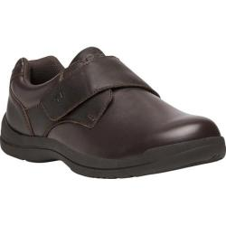 Men's Propet Marv Adjustable Strap Shoe Brown Synthetic