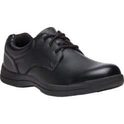 Men's Propet Marv Plain Toe Shoe Black Synthetic|https://ak1.ostkcdn.com/images/products/191/202/P23125383.jpg?impolicy=medium