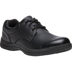 Men's Propet Marv Plain Toe Shoe Black Synthetic