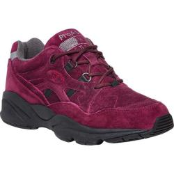 Women's Propet Stability Walker Shoe Berry Suede