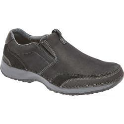 Men's Rockport Lite Five Slip On Black Leather