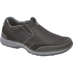 Men's Rockport Lite Five Slip On Black Leather