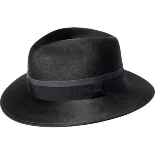 8fd3bb09 Men's Bailey of Hollywood Barkley Fedora 71002 Black - Free Shipping Today  - Overstock - 23140271