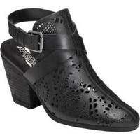 Women's Aerosoles Exclusivity Slingback Black Leather