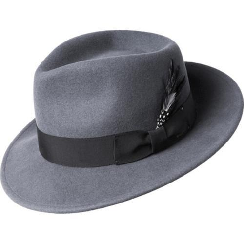 Shop Men s Bailey of Hollywood Fedora 7002 Graphite - Free Shipping Today -  Overstock.com - 16852335 26526592d27