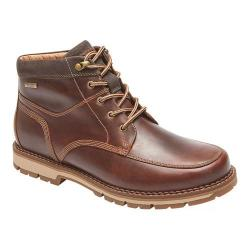 Men's Rockport Centry Panel Toe Hiking Boot Brown Leather