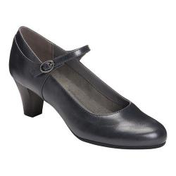 Women's A2 by Aerosoles For Shore Mary Jane Pump Navy Faux Leather