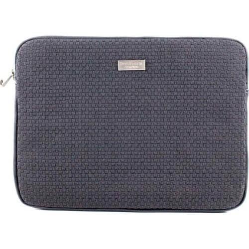 Women's Bernie Mev BM19 Medium Laptop Case Black Faux Leather/Black