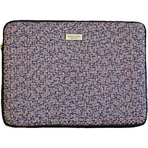 Women's Bernie Mev BM19 Medium Laptop Case Black Faux Leather/Endure
