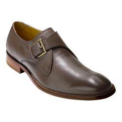 Men's Cole Haan Williams II Monk Strap Chestnut Grain Leather