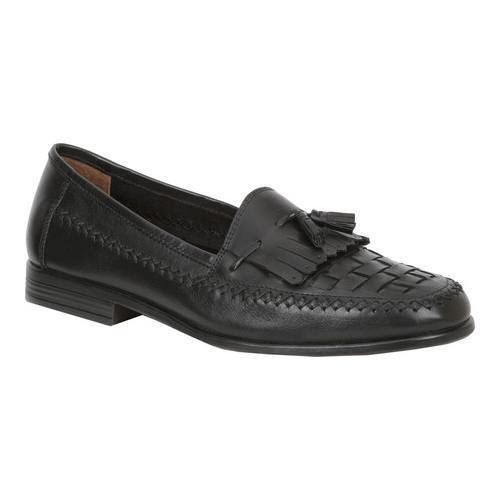 Men's Giorgio Brutini Monocle Kiltie Loafer Black Leather