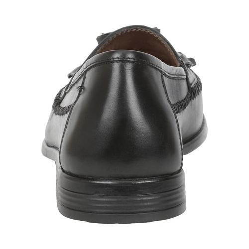 Men's Giorgio Brutini Monocle Kiltie Loafer Black Leather - Thumbnail 2