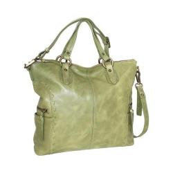 Women's Nino Bossi Adela Leather Satchel Avocado