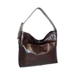 Women's Nino Bossi Ursula Leather Hobo Bag Chocolate|https://ak1.ostkcdn.com/images/products/191/881/P23201586.jpg?impolicy=medium