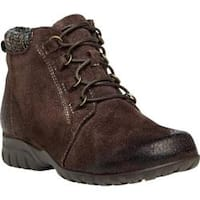 Women's Propet Delaney Boot Brown Suede