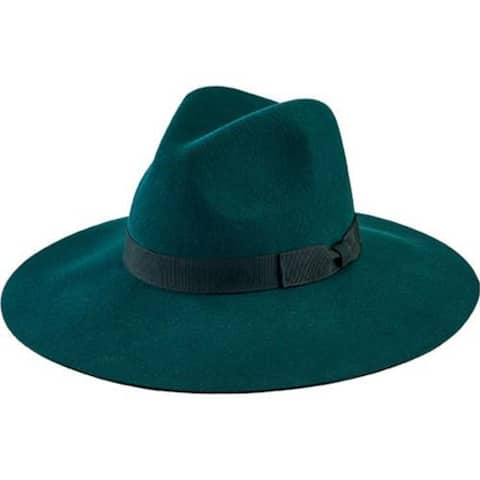 Women's San Diego Hat Company Floppy Fedora with Bow WFH8049 Green