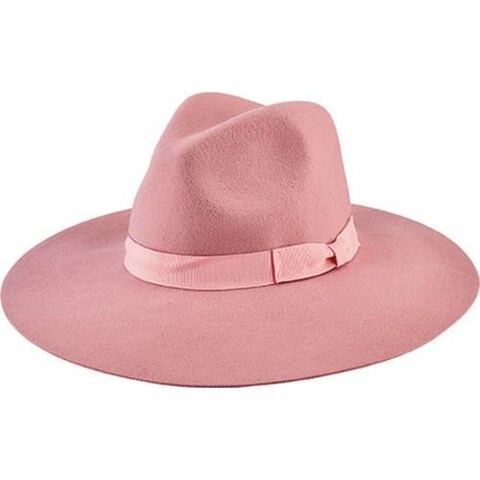 Women's San Diego Hat Company Floppy Fedora with Bow WFH8049 Pink