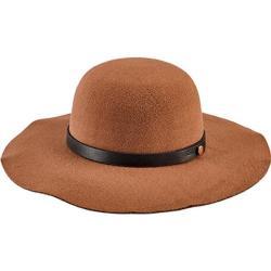 Women's San Diego Hat Company Faux Wool Felt Floppy Hat CTH8079 Camel