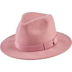 Women's San Diego Hat Company Fedora with Bow WFH8039 Pink