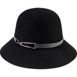 Women's San Diego Hat Company Packable Cloche WFH8038 Black
