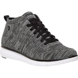 Women's Propet TravelFit High Top Silver Metallic Mesh