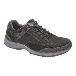 Men's Rockport Rocsports Lite Five Lace Up Sneaker Black Leather