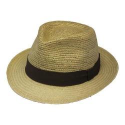 Henschel Trilby 3159 Straw Hat Khaki