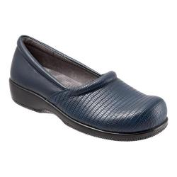 Women's SoftWalk Adora Navy Nappa Leather