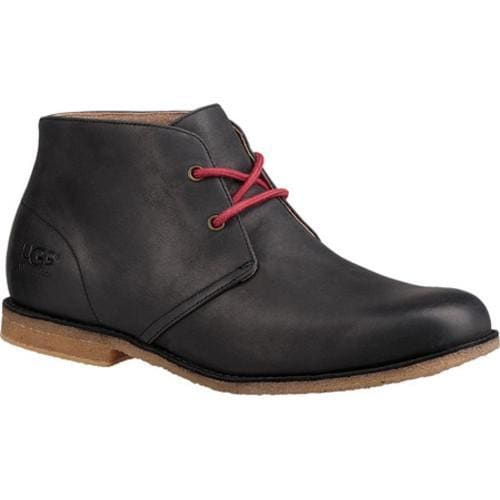 dcc71b6e411 Men's UGG Leighton Waterproof Chukka Boot Black Full Grain Leather