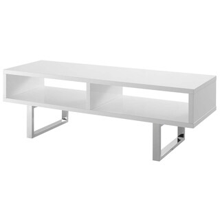 Modway Amble White Melamine 47-inch Low-profile TV Stand