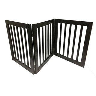 3 panel Expansion Pet Gate, Brown