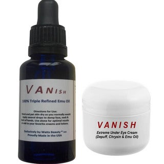 VANISH Age Fading Serum and Under Eye Cream Combo