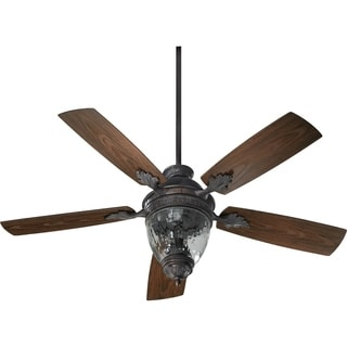 Georgia Clear Glass 52-inch Indoor / Patio Ceiling Fan