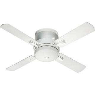 Davenport 52-inch Transitional Hugger Ceiling Fan with Integrated Light Kit (4 options available)