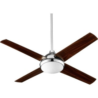 """Quest LED 52"""" Transitional Ceiling Fan with Integraded LED Light Kit"""