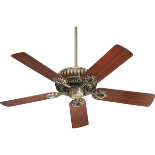Empress 52-inch 5-blade Ceiling Fan With Multiple Finishes