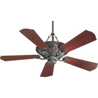 Salon 56-inch 5-blade 3-light 3-speed Ceiling Fan