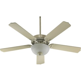 """Capri 3 52"""" Traditional Ceiling Fan with Bowl Light Kit. (More options available)"""