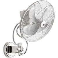 Piazza 18.5-inch Wall-mount Oscillating Fan