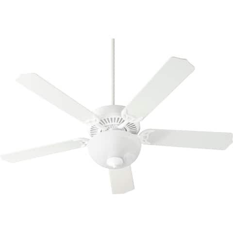 """Capri 8 LED 52"""" Uni-Pak Traditional Ceiling Fan with LED Light Kit."""