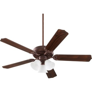 "Capri 52"" Uni-Pak 3 Light Traditional Ceiling Fan"