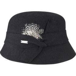 Women's Betmar Laurel Bucket Hat Black