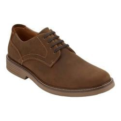 Men's Dockers Parkway Plain Toe Derby Brown Waxy Nubuck